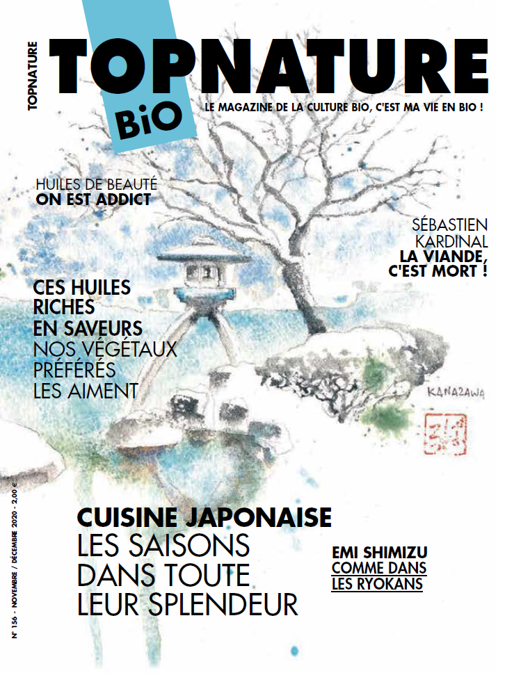 Couverture Top nature bio numero 56